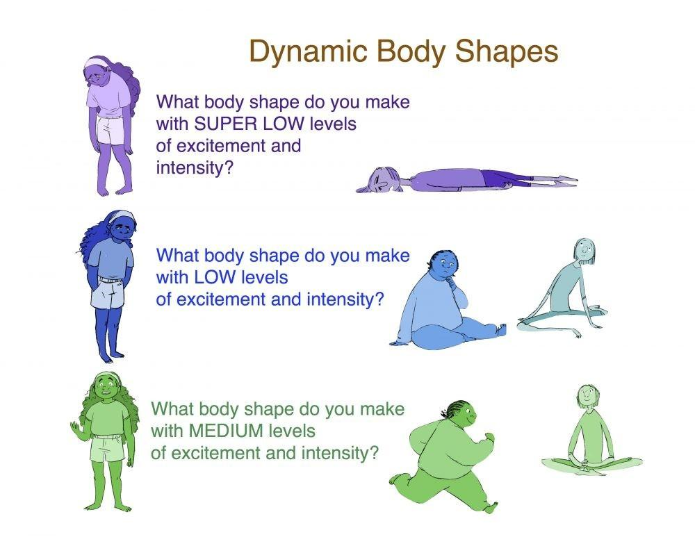 Dynamic Body Shapes